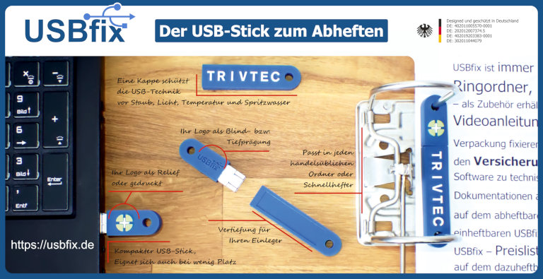 TRIVTEC USBfix Infokarte